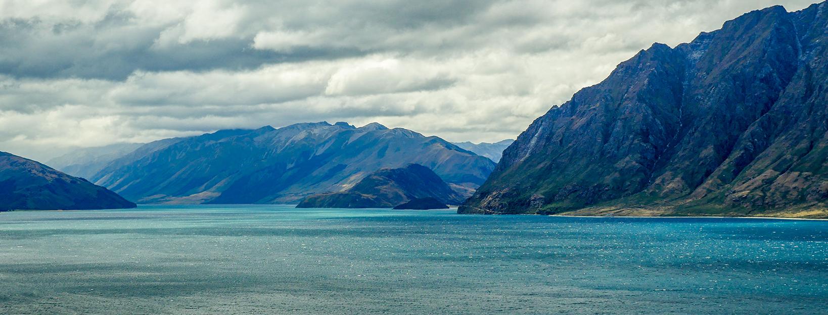 Jižní ostrov Nového Zélandu