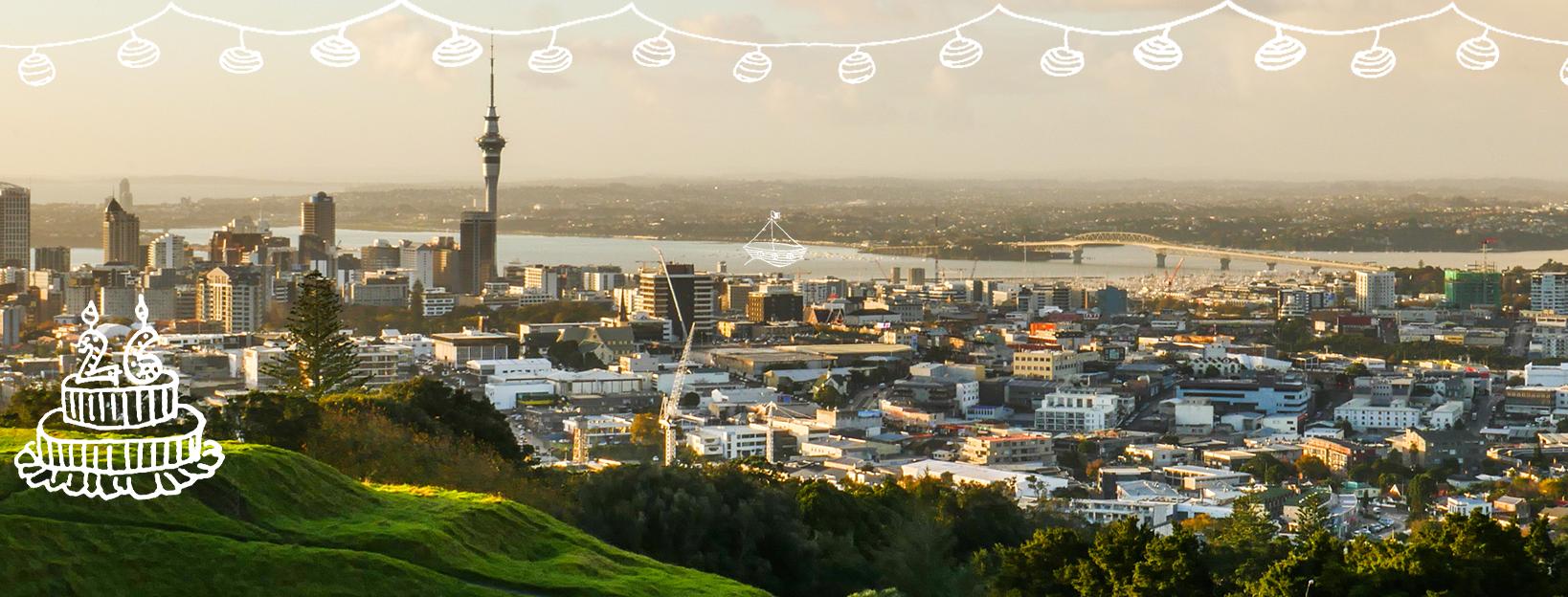 Kapitola 3: Narozeninové radovánky v Aucklandu